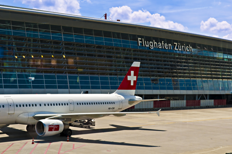 Zurich Airport is the main international airport in Zurich, Switzerland.